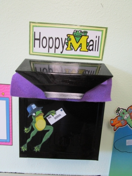 Hoppy Mail Mail Box Preschool Classroom Set up!