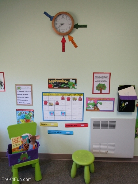 Circle Time Center Preschool Classroom Set up!