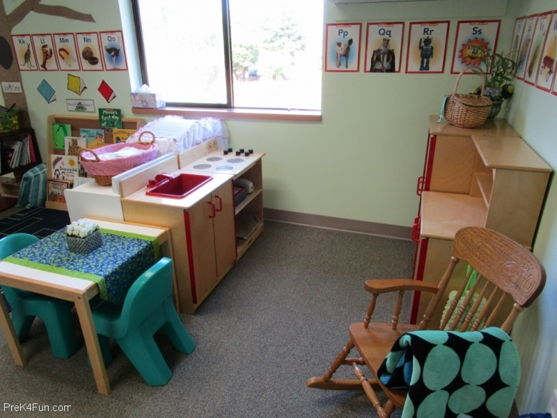 House Center Preschool Classroom Set up!