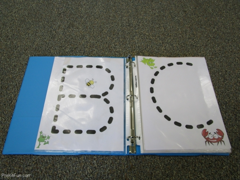 Frogs ABC Book Letter B,C
