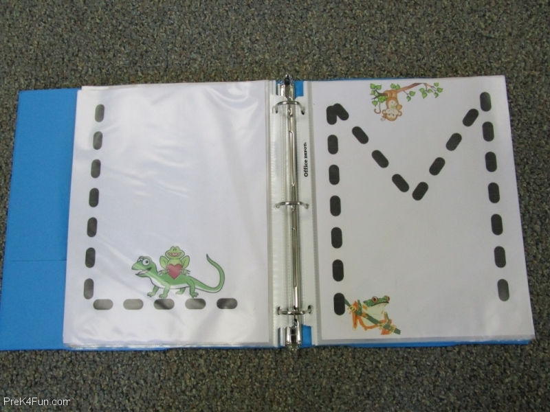 Frogs ABC Book Letter L,M