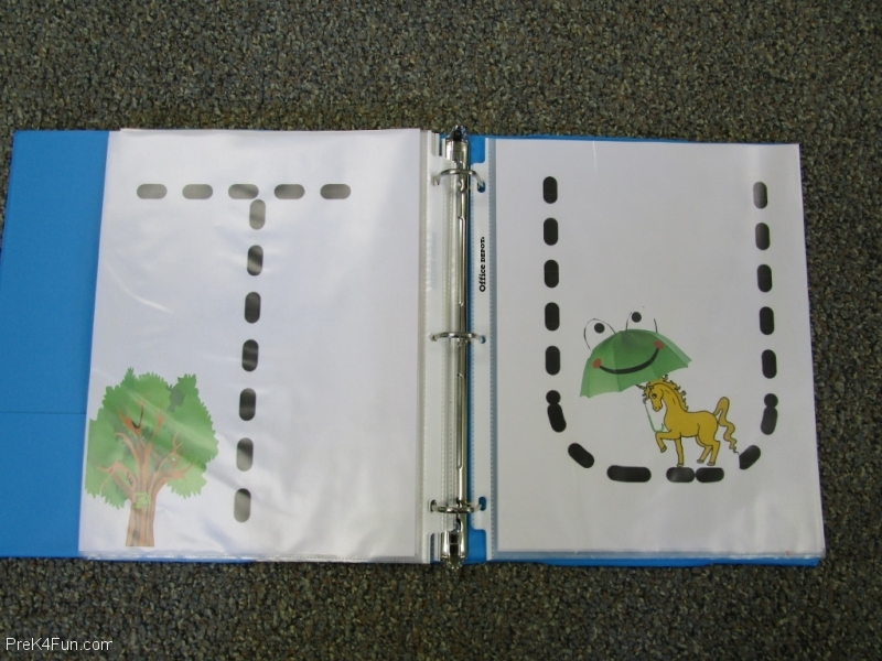 Frogs ABC Book Letter T,U