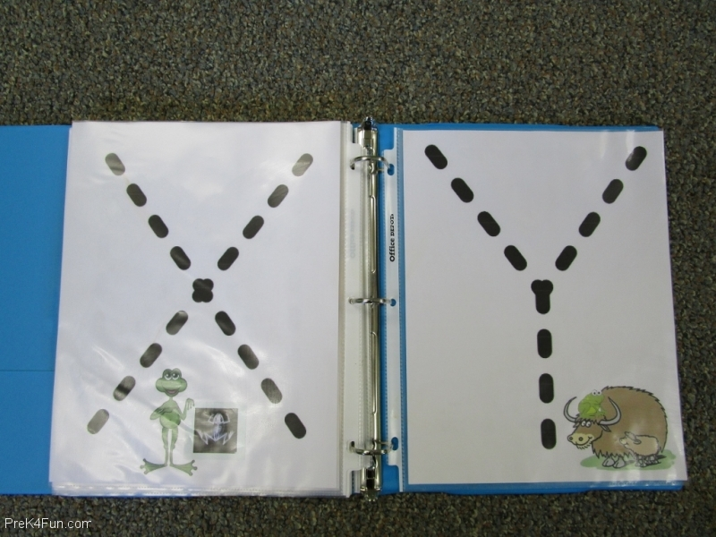 Frogs ABC Book Letter X,Y