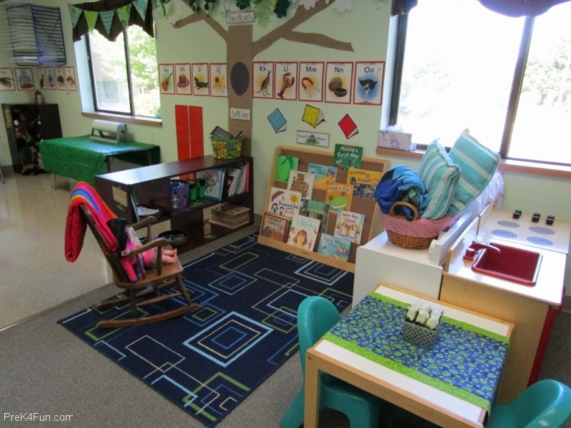 Literacy Center Name Rocks Preschool Classroom Set up! 3