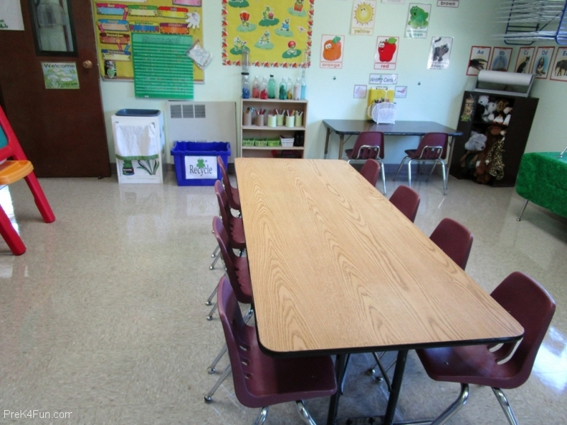 preschool classroom Preschool Classroom Set up!