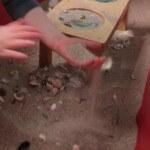 Sand and Shell Sensory Table