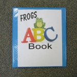 Title Page Frogs ABCBook