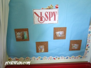 I Spy - Back to School recycled paper what to find
