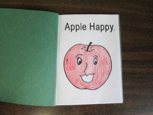 My little book of apple faces Happy