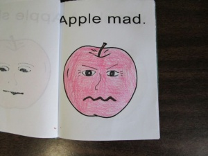 My little book of apple faces mad mad