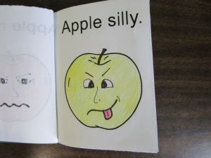 My little book of apple faces silly
