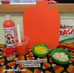What's Inside a Pumpkin Supplies Needed