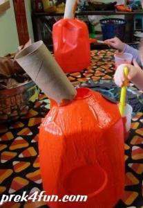 Milk Carton Jack O Lanten play