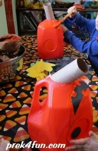 Milk Carton Jack O Lanten play 2