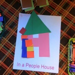 Letter H In A People House art 2