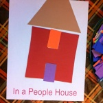 Letter H In A People House art 3