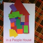 Letter H In A People House art 4