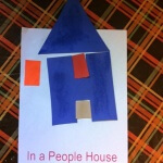 Letter H In A People House art 5