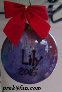 Preschool Paint Ornament done 1