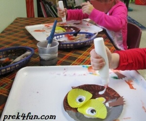 Awesome Owl paper plate 1