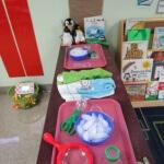 Letter I preschool activity Ice