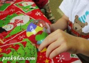 Preschool Paint Ornament 3