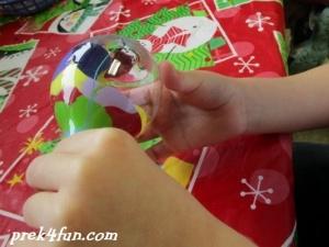 Preschool Paint Ornament 4