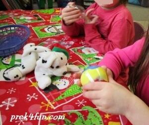 Preschool Paint Ornament 5