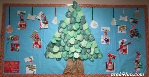 Preschool Christmas Bulletin Board Complete