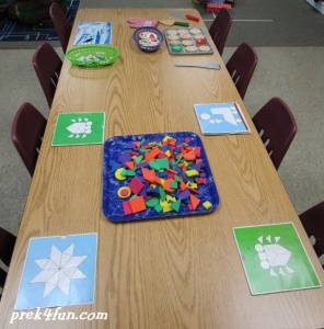 preschool leter i table center 2 preschool art table l63 art