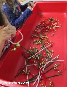 Jingle Bell threading.