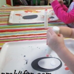 Oval Penguin Preschool Craft fun