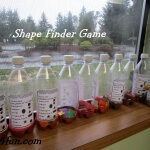 Preschool Shape finder games