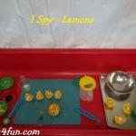 ISpy - Lemons Sensory
