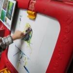 Letter M Monet art 2