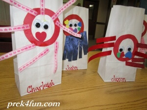 Letter O Art and Activities Octopus bags