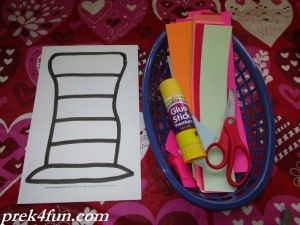 Hats Off For Dr. Seuss Hat Preschool Craft supplies