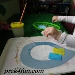Letter R Preschool Art and Activities rain drop 2