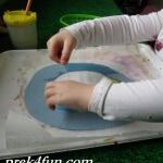 Letter R Preschool Art and Activities rain drop 3