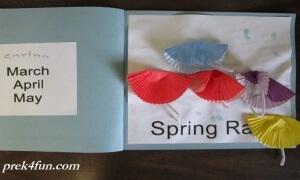 Preschool Book of Seasons spring rain 1005 (800x600)