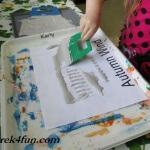 Preschool Book of Seasons autumn wind scrape