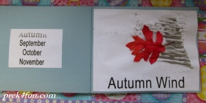 Preschool Book of Seasons autumn wind 1
