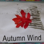 Preschool Book of Seasons autumn wind 2