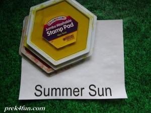 Weather Book of Seasons summer sun supplies
