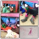Letter u Preschool activities upside down drawing