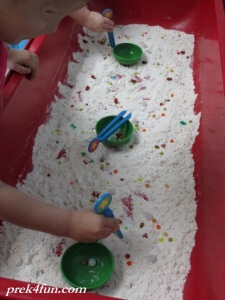I Spy Treasure Preschool Sensory fun