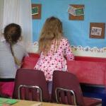Letter X Preschool art and activities Treasure Hunt Sensory play