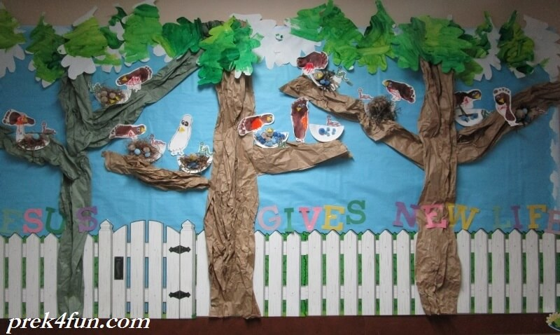 Spring New Life Bulletin Board