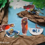 spring Tree Bird Bulletin Board Robins