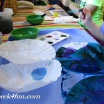 Coffee Filter Flowers Preschool